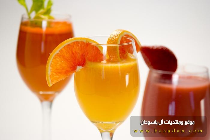 الفيتامينات عصير الفواكه