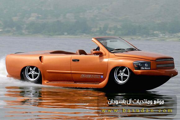 القارب السياره 2015 سياره برمائيه